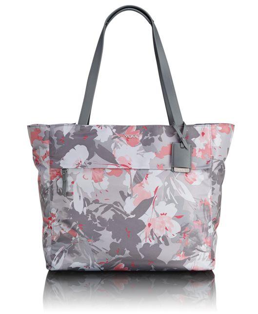 M-Tote in Grey Floral Print