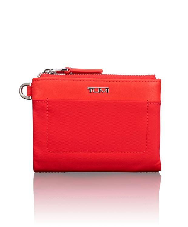 Double Zip Wallet in Hot Pink
