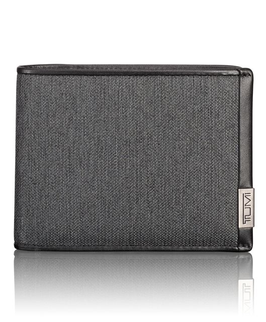 TUMI ID Lock™ Global Removable Passcase in Anthracite/Black
