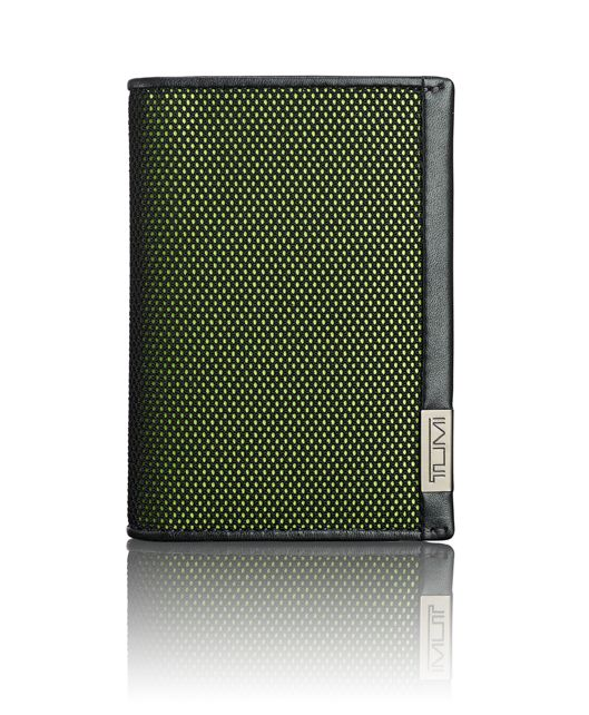 TUMI ID Lock™ Gusseted Card Case in Reflective Tundra