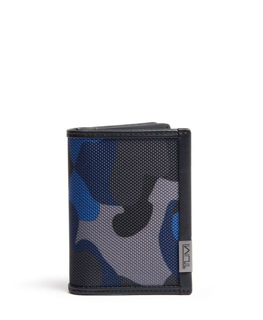 Gusseted Card Case in Camo