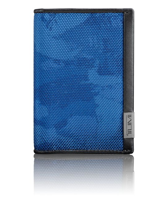 TUMI ID Lock™ Multi Window Card Case in Navy Restoration