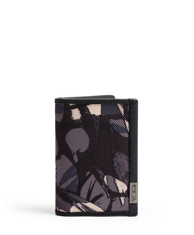 TUMI ID Lock™ Multi Window Card Case in Grey Highlands Print