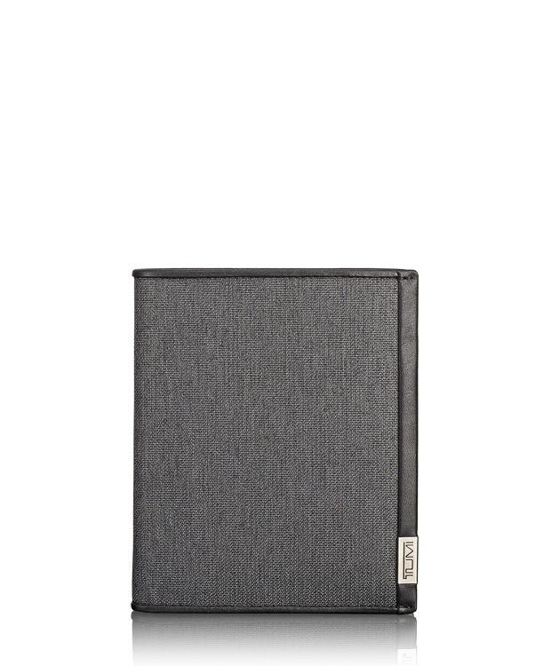 TUMI ID Lock™ Passport Case in Anthracite/Black