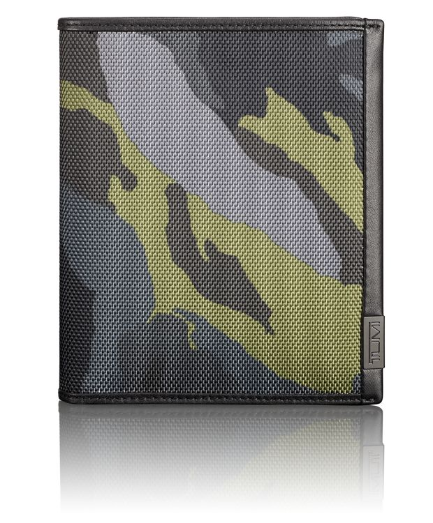 TUMI ID Lock™ Passport Case in Green Camo