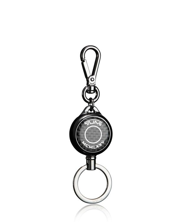 Retractable Key Fob in Carbon