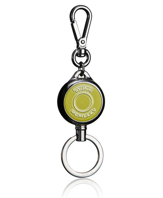 Retractable Key Fob in Citron