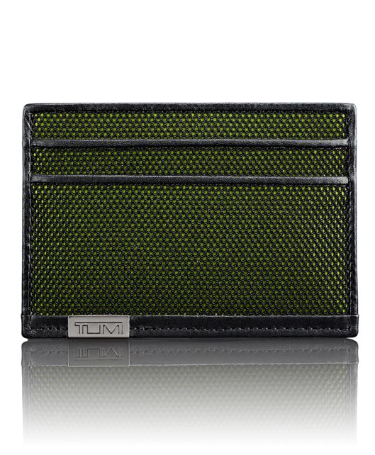 TUMI ID Lock™ Slim Card Case in Reflective Tundra