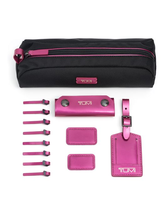 TUMI Accents Kit in Metallic Pink