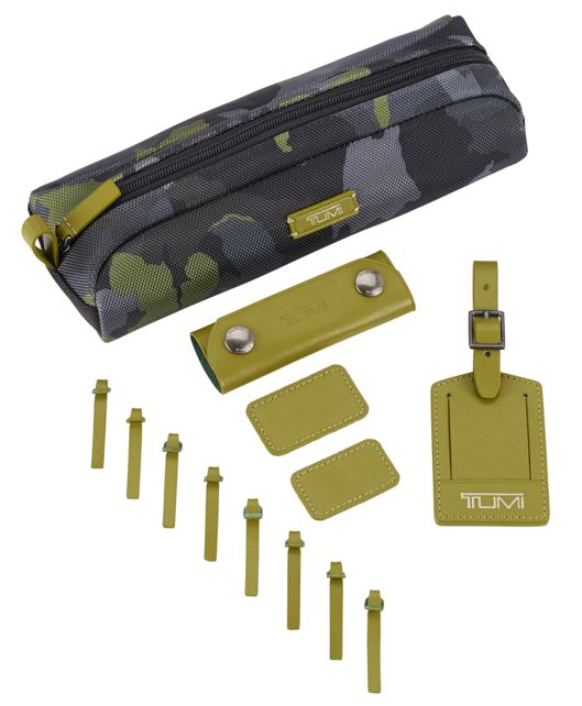 TUMI Accents Kit in Green Camo