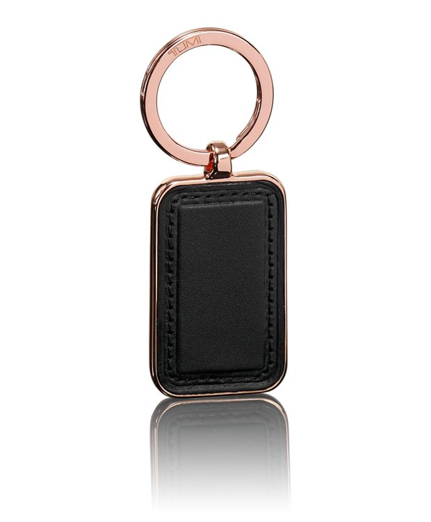 Embossed Patch Key Fob in Rose Gold