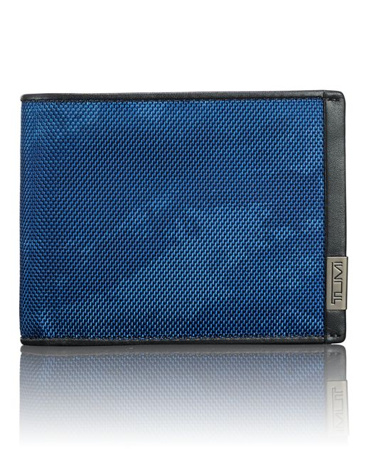 TUMI ID Lock™ Global Wallet with Coin Pocket in Navy Restoration