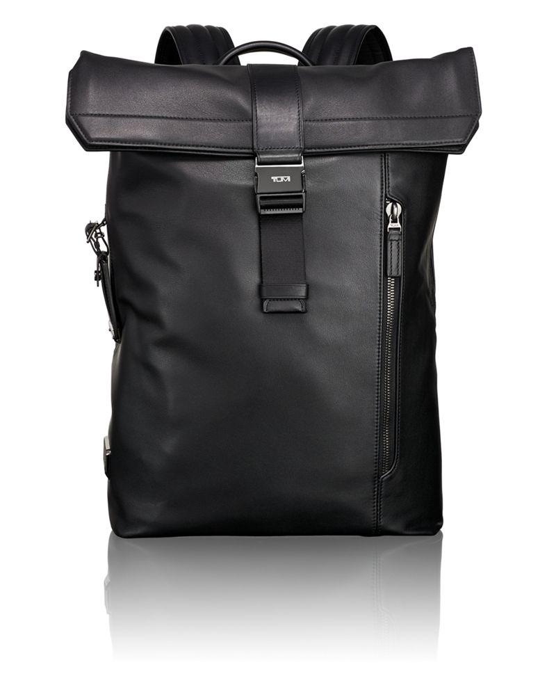 Kenton Foldover Backpack Leather
