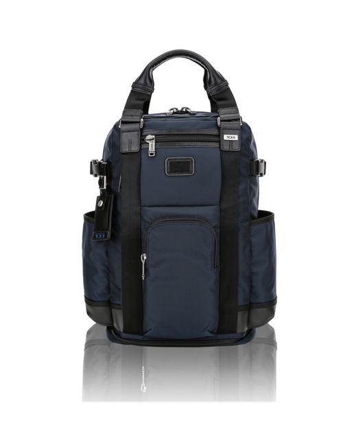 Lejeune Backpack Tote in Navy/Black