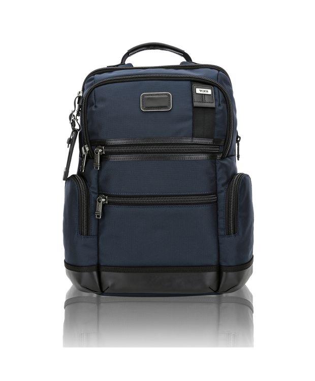 Knox Backpack in Navy/Black