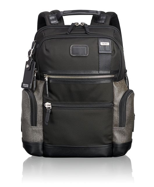 Knox Backpack in Earl Grey/Black