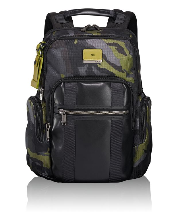 Nellis Backpack in Green Camo