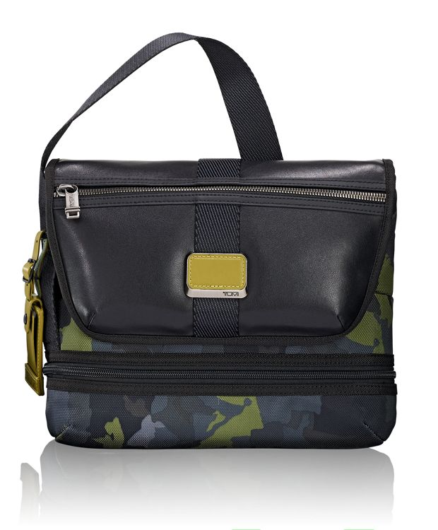 Travis Crossbody in Green Camo