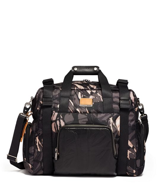 Buckley Duffel in Grey Highlands Print
