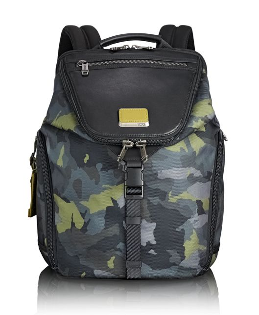 Willow Backpack in Green Camo