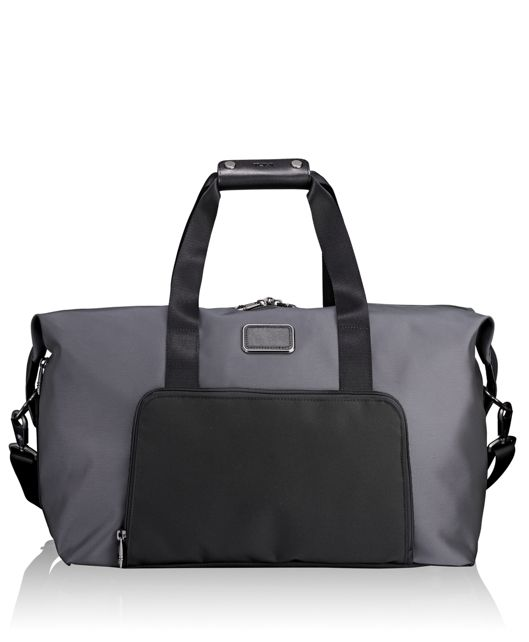 Double Expansion Satchel in Pewter