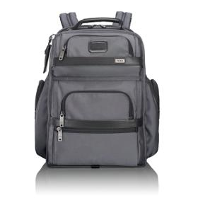 Tumi T P Business Cl Brief Pack In Pewter