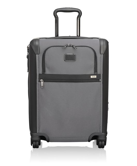 Continental Expandable 4 Wheeled Carry-On in Pewter