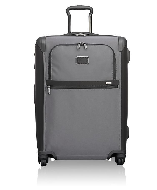Short Trip Expandable 4 Wheeled Packing Case in Pewter