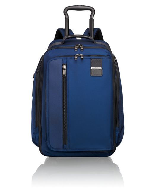 Wheeled Backpack in Ocean Blue