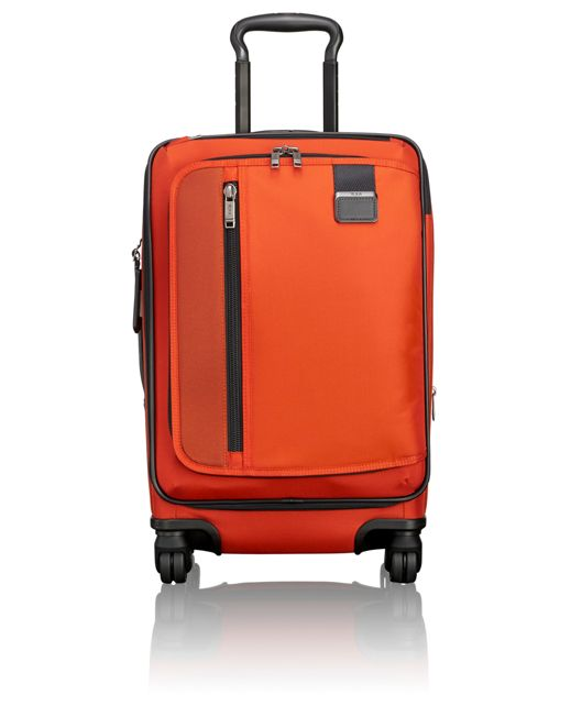 International Expandable Carry-On in Sunset Red