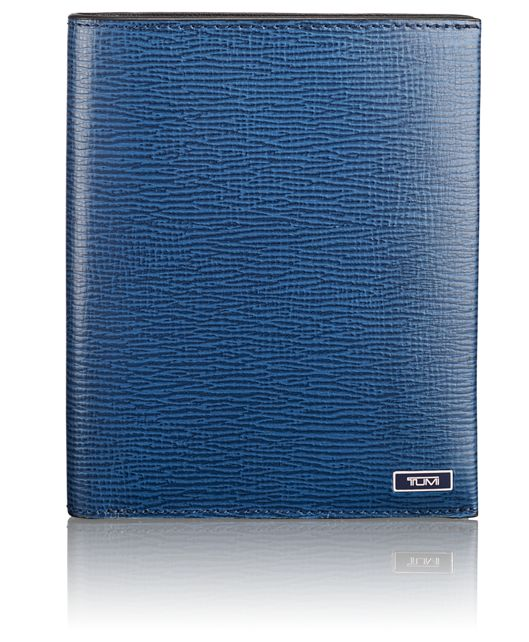 TUMI ID Lock™ Passport Case in Cobalt