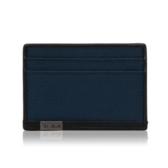 SLIM CARD CASE Blue - medium | Tumi Thailand