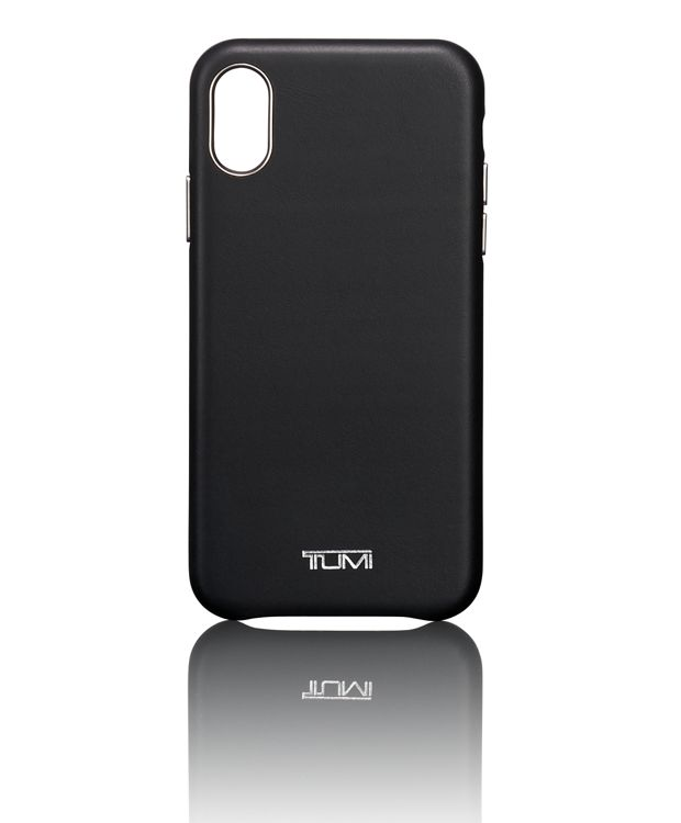 Leather Wrap Case iPhone X in Black