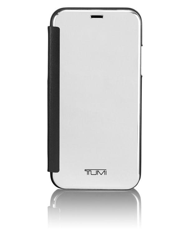 Privacy Folio for iPhone X in Silver/Black