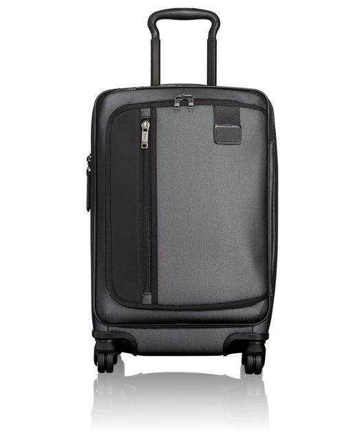 International Expandable Carry-On in Reflective Silver