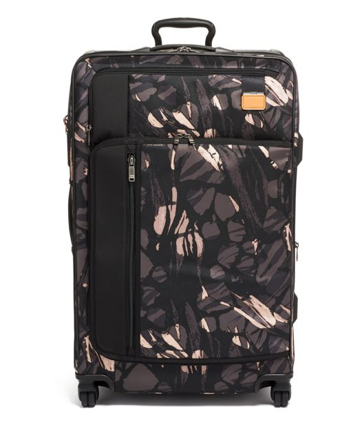 Extended Trip Expandable Packing Case in Grey Highlands Print
