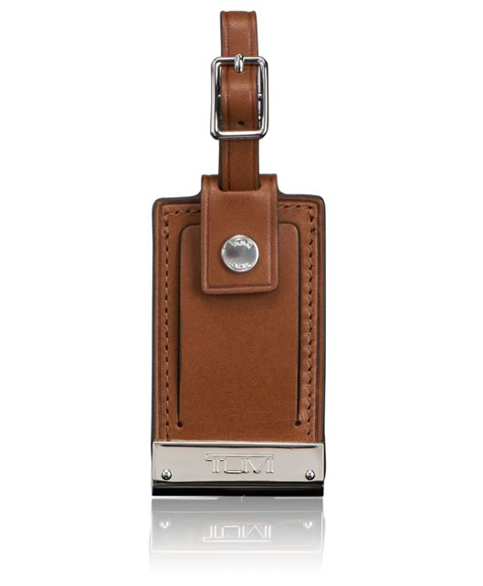 Luggage Tag in Umber