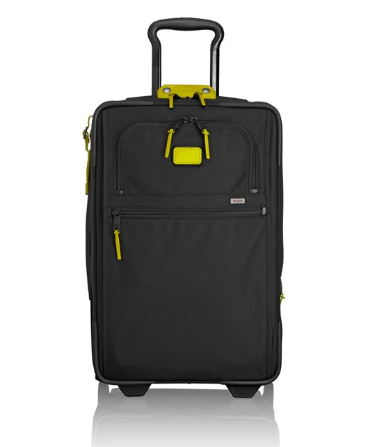International Expandable 2 Wheeled Carry-On in Citron