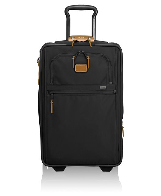 International Expandable 2 Wheeled Carry-On in Metallic Bronze