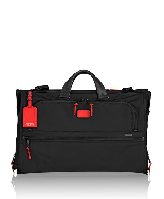 Tri-Fold Carry-On Garment Bag in Cherry