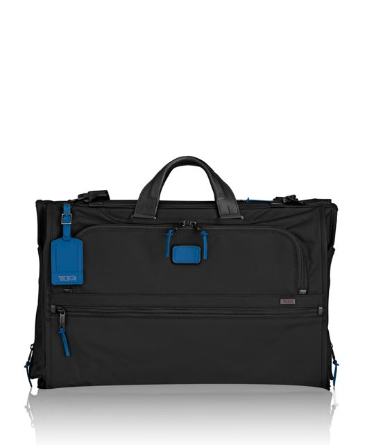 Tri-Fold Carry-On Garment Bag in Atlantic
