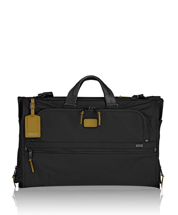 Tri-Fold Carry-On Garment Bag in Green Camo