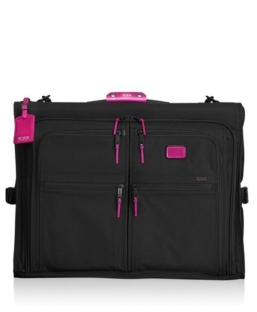 Classic Garment Bag in Metallic Pink
