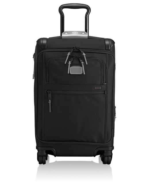 Front Lid International Carry-On in Metallic Silver