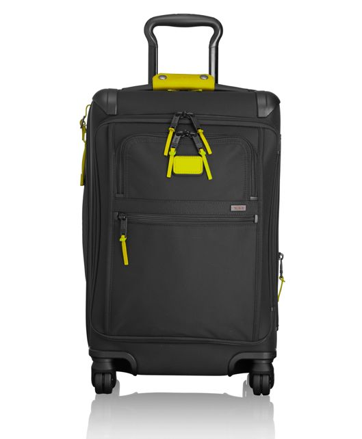 Front Lid International Carry-On in Citron
