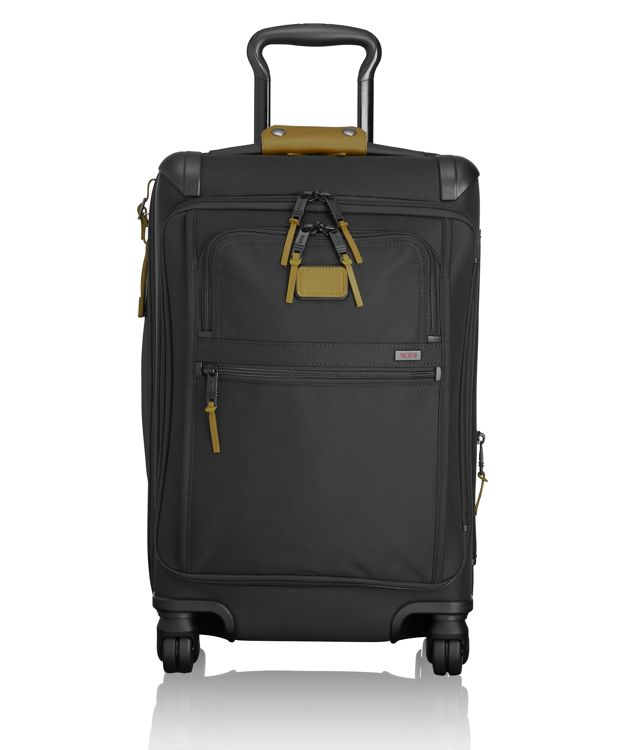Front Lid International Carry-On in Green Camo
