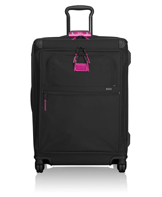 Front Lid Short Trip Packing Case in Metallic Pink