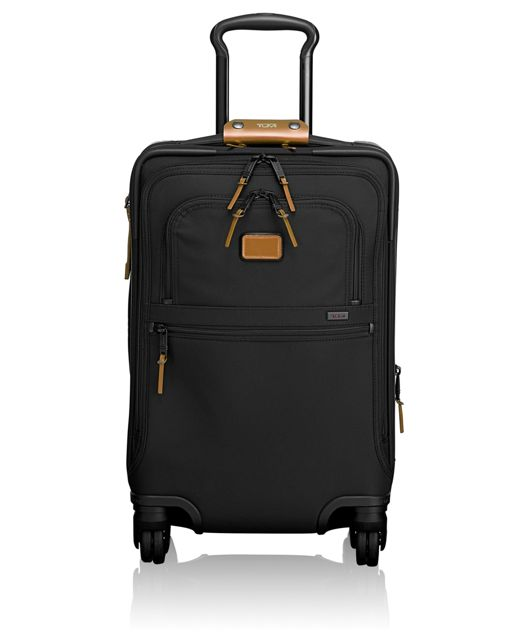 International 4 Wheeled Office Carry-On in Metallic Bronze