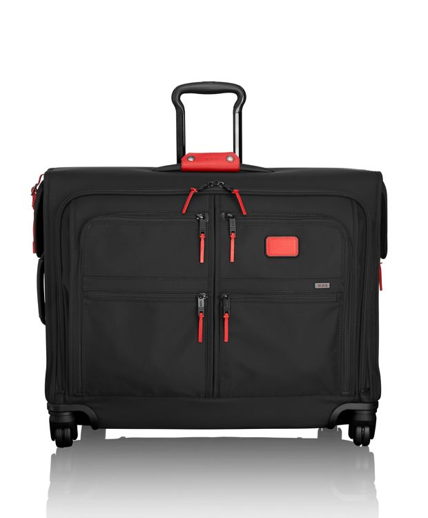 4 Wheeled Medium Trip Garment Bag in Cherry