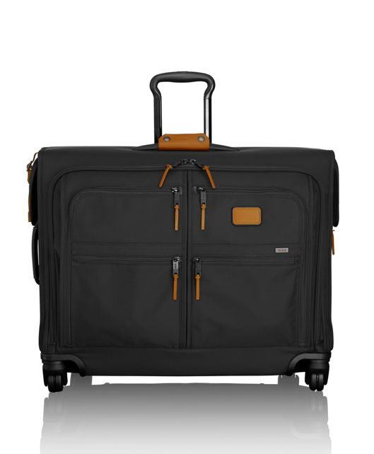4 Wheeled Medium Trip Garment Bag in Tan